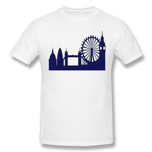 HM Men's Tees The London Eye Size L White