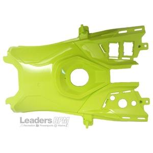 Ski-Doo New OEM Rear Console Fuel Tank Body Panel Green REV-XM REV-XS 517305643