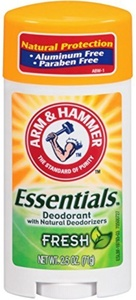 Arm & Hammer Essentials Natural Deodorant, Fresh, 2.5 Ounce by Arm & Hammer
