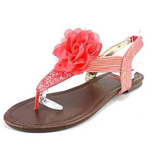 Material Girl Shilo Women Open Toe Synthetic Thong Sandal
