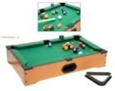 Mini Pool Table / Billiards - Desk Top Game Board w/ Accessories - Billiards Set by Mini Pool Table