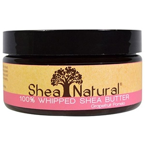 Shea Natural Shea Butter Whip Grapefruit Pomelo, Grapefruit Pomelo 6.3 oz by Shea Natural