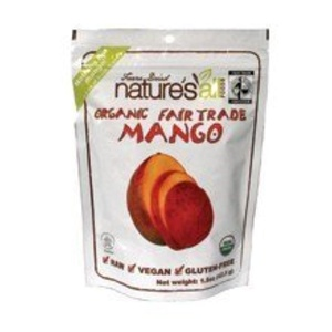 NatureS All Foods Free Trade Freeze Dried Raw Mango 1.2 Oz -Pack of 12 by Nature's all