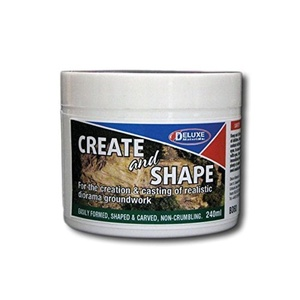 Deluxe Materials - Create and Shape (240ml) - N/A - DLBD-60 - New by DELUXE MATERIALS