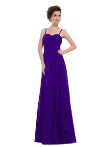Angelia Bridal Women's Sweetheart Bridesmaids Dress Long Evening Gown (16,Regency)