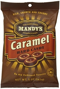 Mandy's Old Fashioned Caramel Candy, 5.0-Ounce (Pack of 24) by Mandy's