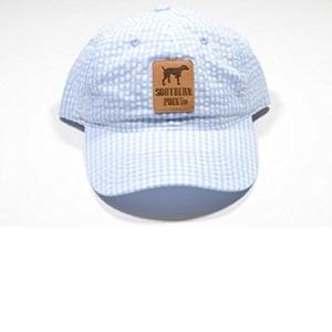 Southern Point Seersucker Hat