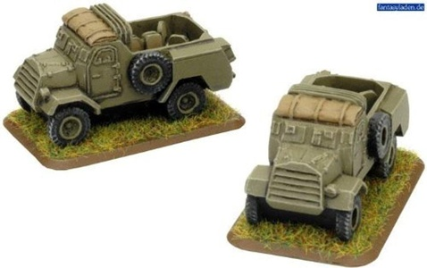 Flames of War British C15TA Armoured Truck (2 figures, Late War, BR218) by Flames of War