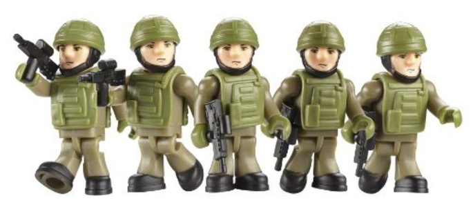 Character Building HM Armed Forces Commando Army Builder Pack by Character Building Armed Forces