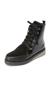 United Nude Women's Hiker Combat Boots, Black, 35 EU (5.5 B(M) US Women)