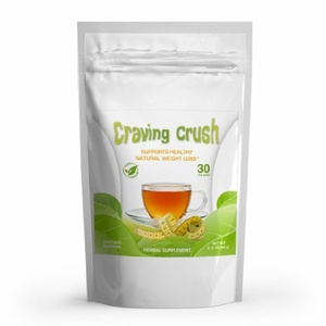 Craving Crush - Weight Loss Tea and Natural Appetite Suppressant, New Easy Slimming Formula* 30 Tea Bags - Net WT 2.12 oz(60g) by