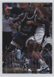 Shaquille O'Neal #/1,250 (Trading Card) 1995 Classic 5 Sport - Record Setters #RS10