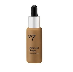 Boots No7 AA Foundation 30ml (Chestnut) - by Boots (Pack of 3)