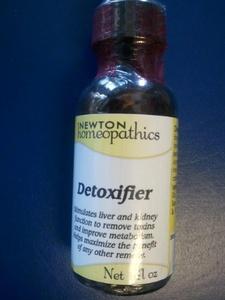 Newton's Detoxifier 1oz Liquid by Newton Homeopathics