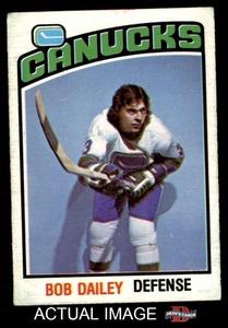 1976 O-Pee-Chee NHL # 350 Bob Dailey Vancouver Canucks (Hockey Card) Dean's Cards 2 - GOOD