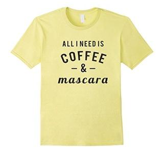 Men's Coffee And Mascara Shirt 2XL Lemon