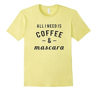 Men's Coffee And Mascara Shirt Small Lemon