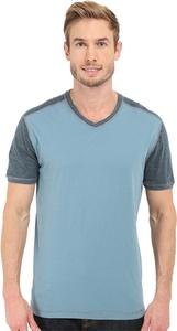 Agave Denim Men's Rubicon Baseball V-Neck Short Sleeve Citadel T-Shirt 2XL