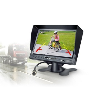 E-future 7.0 Inch Color LCD TFT Rearview Monitor Screen for Car Backup Camera with Remote Control