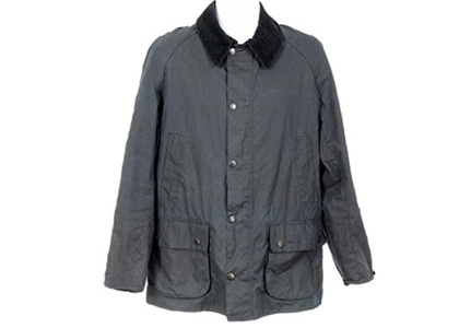 J Crew Crewcuts Kids' BarbourBedale Jacket XXL 14 Yrs B1908 Black Coat