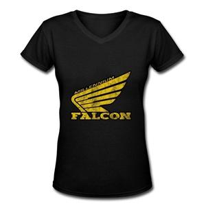 CO Womens Fast Enough V-neck T Shirt Black