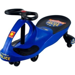 Lil' Rider Wiggle Racer Ride-On, Blue Deceptively Simple to Operate by ROCKIN' ROLLERS