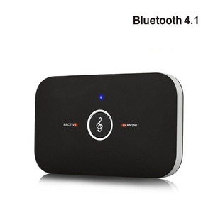 Bluetooth 4.1 Music Adapter, Lollipop 2-in-1 Wireless Audio A2DP Transmitter Receiver 3.5mm Stereo Output for Headphones, TV, Computer / PC, MP3 / MP4 Player, Car Stereos