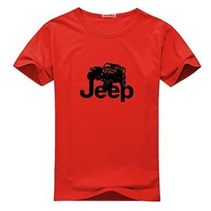 Jeep Logo for Women Printed Short Sleeve Tee T-shirt