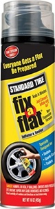 Fix-A-Flat S420-6-6PK Aerosol Tire Inflator with Hose for Standard Tires - 16 oz. (Pack of 6) by Fix A Flat