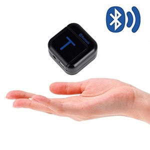 FM Audio transmitter - Bluetooth A2DP stereo 3.5 mm Hi-Fi Audio music transmitter Dongle for iPhone iPad Samsung Android