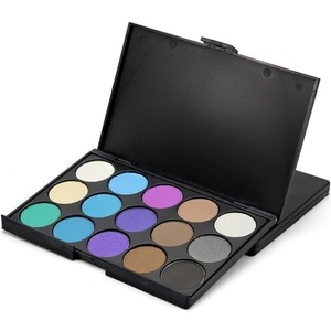 BESSKY 15 Colors Eyeshadow Eye Shadow Palette Colors Makeup Kit Eye Color Palette (#2)