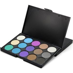 BESSKY 15 Colors Eyeshadow Eye Shadow Palette Colors Makeup Kit Eye Color Palette (#2)