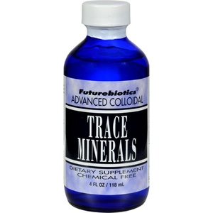 2Pack! FutureBiotics Advanced Colloidal Trace Minerals - 4 fl oz