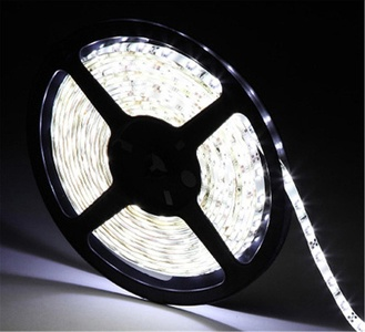Ustellar Flexible LED Strip Lights, 300 Units SMD 2835 LEDs, 12V LED Light Strip 6000K, Non-waterproof, 5 Meter Lighting Strips, A Power Adapter is Required but Not Included (Daylight White)