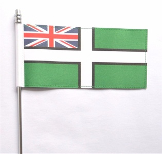 Devon County Ensign Ultimate Table Flag
