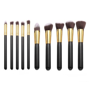 Celltronic 10PCS Makeup Brush Professional Cosmetic Foundation Face Powder Brushes Kits Sets