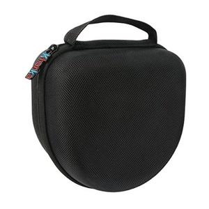 Khanka EVA Carrying Storage Travel Hard Case Bag for Caldwell Low Profile E-Max Electronic Shooting Protection Professional Folding Ear Muffs - Black by Khanka