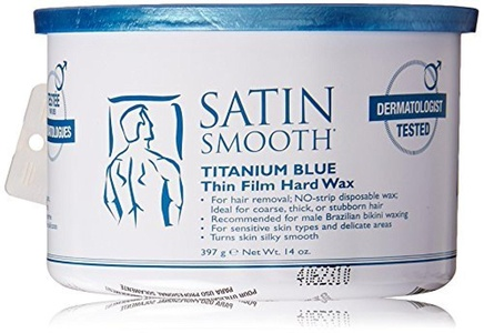 Satin Smooth Wax - Titanium Blue - 14 oz by Satin Smooth