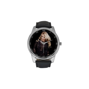 Britney Spears DBLN465 Men Wrist Watches Leather Strap Large Dial Watch