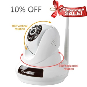 IP Camera, JOOAN 720P Network IP Camera With Two Way Audio Remote Wireless Baby Monitor With Night Vision
