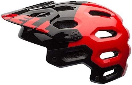 Bell Super 2 MIPS Helmet - Red/Black Aggression Large by Bell