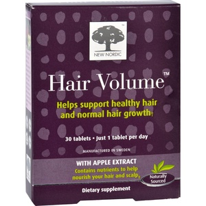 2Pack! New Nordic Hair Volume - 30 Tablets