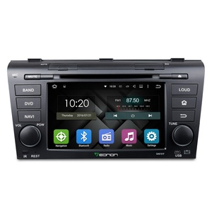 Eonon GA6151F Android 5.1 Car DVD Player Special for Mazda3 2004-2009 Quad Core Lollipop In Dash GPS Radio Stereo 7 Inch 2 Din Multimedia Touch Screen Bluetooth 4.0 Steering Wheel Control