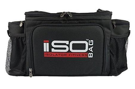 2nd Gen Isobag 6 Meal Black/Black by Isolator Fitness