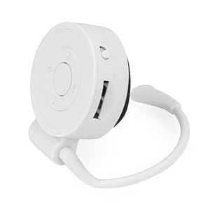 Creazy Sport Running Earhook USB Digital MP3 Music Player Support 32GB Micro SD TF Card (White)