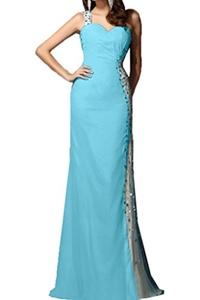 Avril Dress Elegant One-Strap-Shoulder Formal Evening Crossed Back Sweetheart Wedding Prom Ball Mermaid Dress New-2-Black