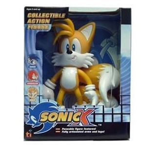 Sonic X Sonic the Hedgehog Tails Large 9 Collectible Action Figure by Sonic X