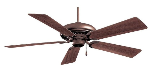 Oil Rubbed Bronze 5 Blade 52In. Ceiling Fan - Blades Included