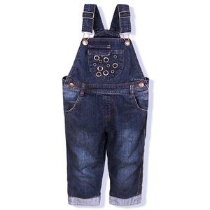 Dr.mama Unisex Baby Dungarees Denim Jeans Bib Overalls
