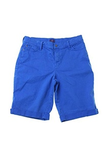 Nydj Blue Denim Bermuda Shorts